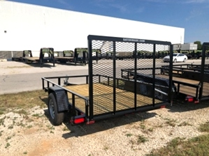 Utility Trailer 6x10 Utility Trailer 6x10. 2.9k single axle with tall back gate