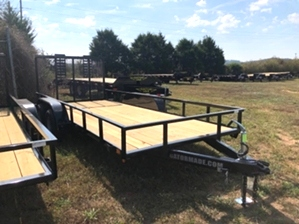 Utility Trailer Cheap 16ft Utility Trailer Cheap 16ft. Dual axle with tall back gate