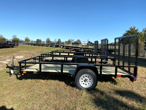 Utility Trailer 6x12 Landscape By Gator  Utility Trailer 6x12 Landscape By Gator. Single axle with diamond tread fenders.