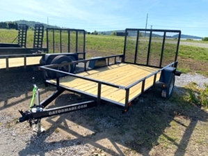 Utility Trailer 12ft Utility Trailer 12ft. 12ft utility Gatormade trailer with spring assist tail gate