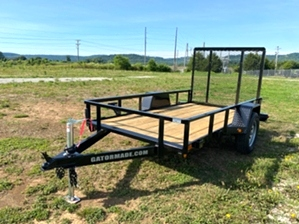 Utility Trailer 10ft Utility Trailer 10ft. 5x10 Gatormade utility trailer with spring assist tailgate
