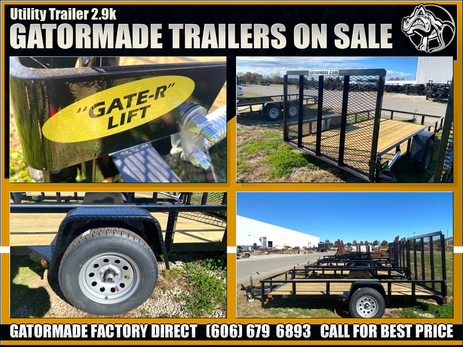 Image Single Axle Utility Trailer
